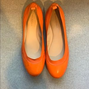 Banana Republic Ballet Flats - Orange - 8.5m